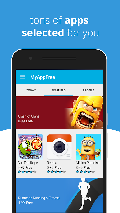 myAppFree - Free Apps Everyday- screenshot