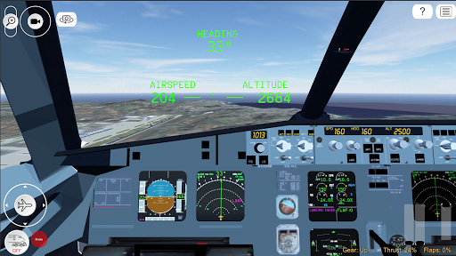 Flight Simulator Advanced  captures d'écran 4