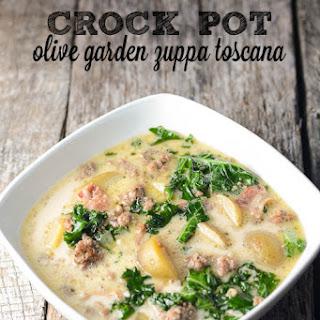 Olive Garden Zuppa Toscana Recipe {Crock Pot Copycat}