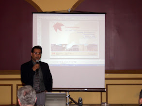 Photo: Paul Sra, Senior Engineer with PWGSC, presented a tech session on Commissioning pertaining to Government projects