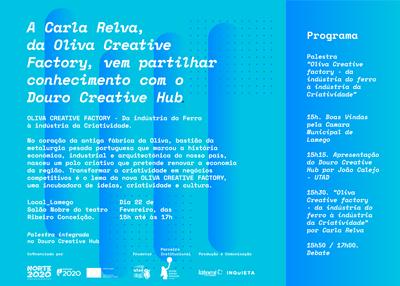 """""""Do Ferro à Criatividade"""", a história da Oliva Creative Factory em Lamego"""