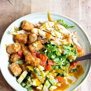 Chicken Tater Tot Salad.