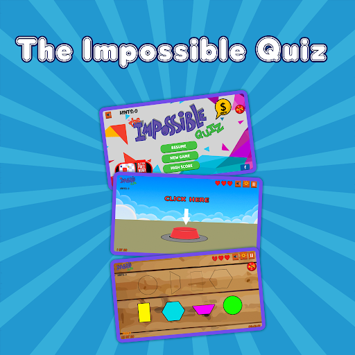 The Impossible Quiz - Genius & Tricky Trivia Game 90 screenshots 1