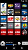 Screenshot of Radios Brazil