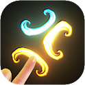 Magic Fluids Free : Touch Screen Live Wallpaper icon
