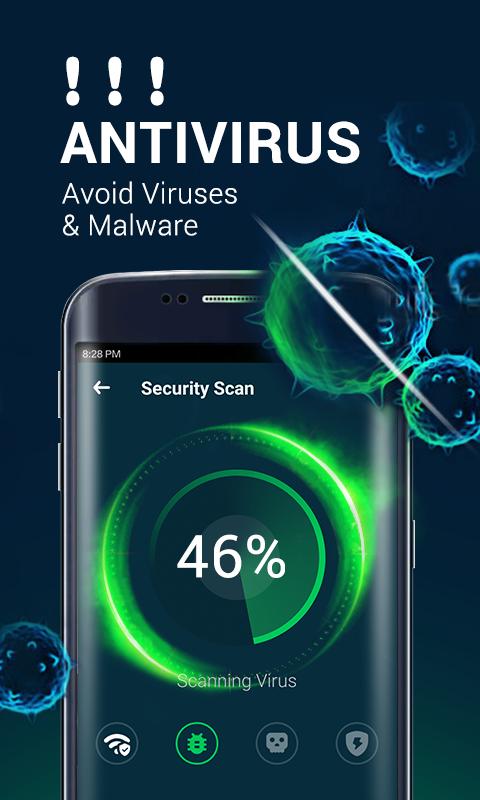Power Security-Anti Virus, Phone Cleaner Screenshot 0