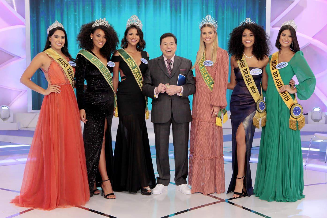 Silvio as Miss Brasil