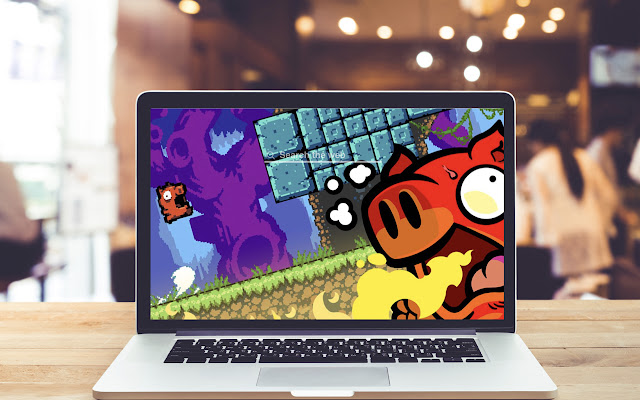 Spicy Piggy HD Wallpapers Game Theme