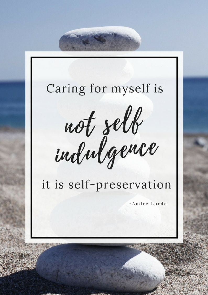Self Care Quote - Limited edition bonuses with the Creative Happy Life Planner