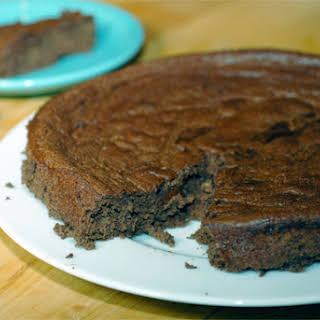 Flourless Chocolate Banana Cake.