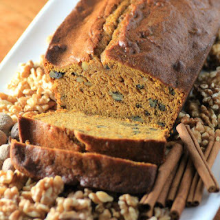 Pumpkin Maple Walnut Loaf