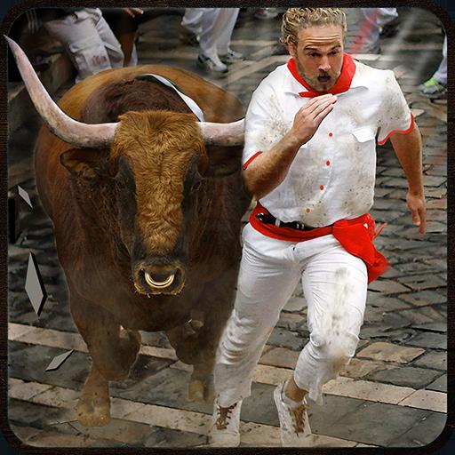 Angry Bull Escape Simulator 3D