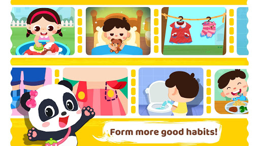 Baby Panda Care: Daily Habits - screenshot