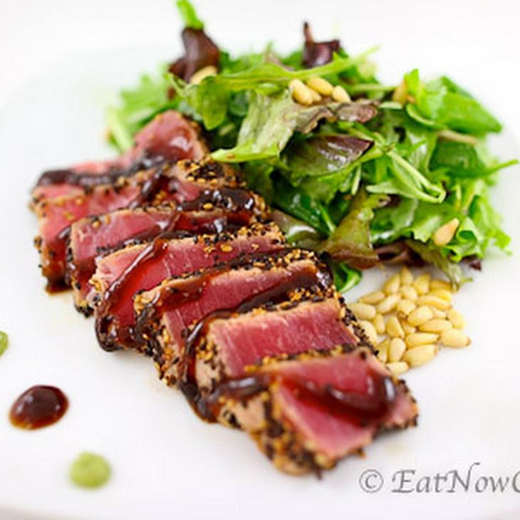 Pan Seared Ahi Tuna Recipe