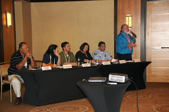 Photo: Panelists: Dr. Ansito Walter (University of Guam) Dr. Karri Perez (University of Guam) , Jacob Perez (Guam Public Defender Corporation), Mikaela Henderson, JD (Guam Public Defender Corporation), Captain Ray Perez (Guam Police Department), J. Basil O'Mallan III (Office of the Attorney Genera of Guaml) came together to address cultural competency and how to work with sexual assault and domestic violence survivors.