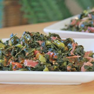 Soul Food Collard Greens.