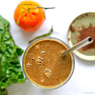 Chocolate Orange Smoothie.