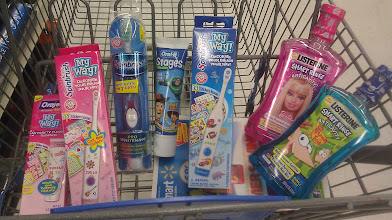 Photo: I started loading the cart and thought this was a good amount to start out with donating.