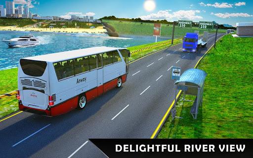 River Bus Driver Tourist Coach Bus Simulator  screenshots 10