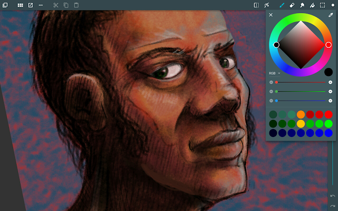ArtFlow: Paint Draw Sketchbook Android 12