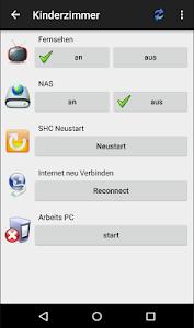 shc SmartHome Control screenshot 1