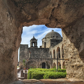 View through the ruins by Cathy Hood - Buildings & Architecture Public & Historical