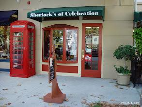 Photo: Sherlock's, Town Center, Celebration, FL
