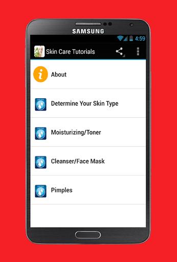 Skin Care Tutorials