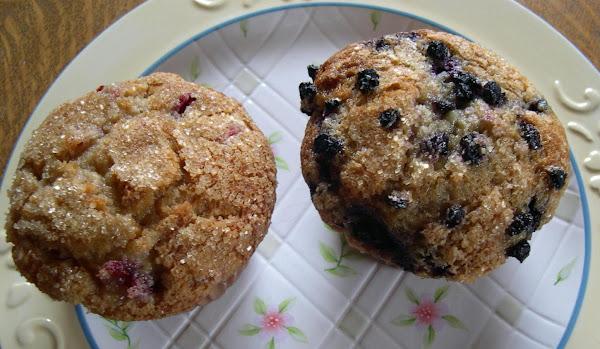 Fruit Buttermilk Muffins Recipe