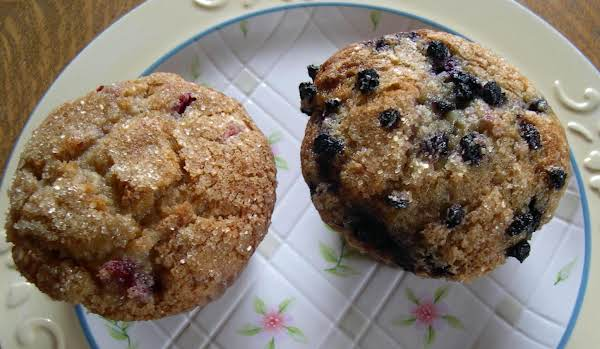 Fruit Buttermilk Muffins Recipe