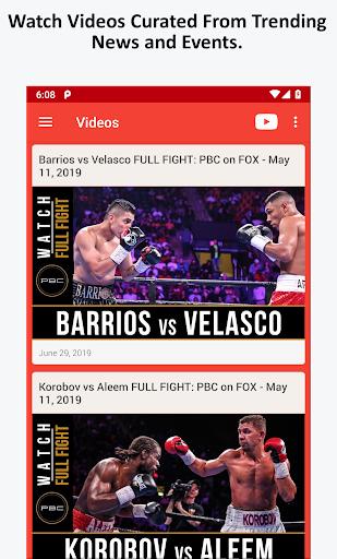 Boxing News, Videos, & Social Media 3.7 screenshots 3