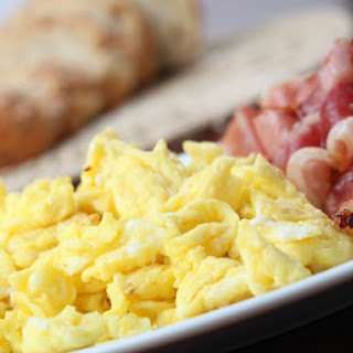 Perfect Scrambled Eggs.