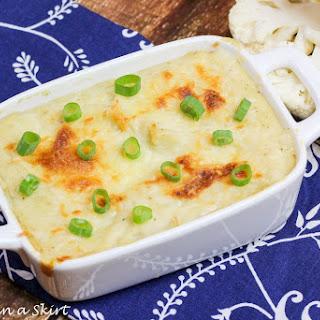 Parmesan Garlic Mashed Cauliflower