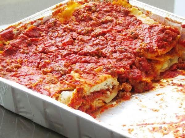 Imitation Beef Lasagna Recipe
