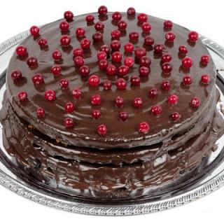 Cranberry Fudge Cake