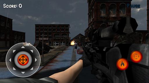 Sniper 3D vs Zoombie 1.1 screenshots 3