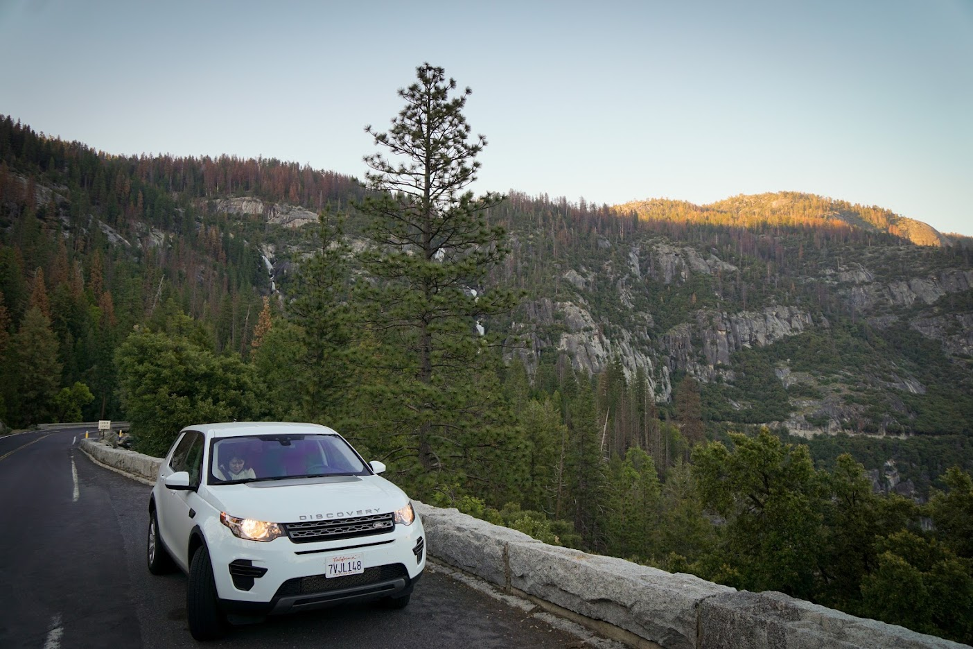 Yosemite Land Rover Discovery Sport