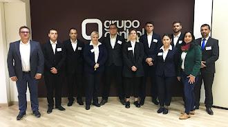 Participantes en el programa formativo de Grupo Control