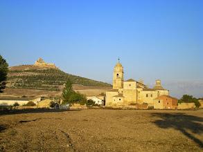 Photo: Etapa 14. Castell i Colegiata de Castrojeriz.