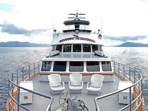 Photo: Alaskan Song's Foredeck