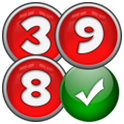 Consecutive numbers puzzle icon