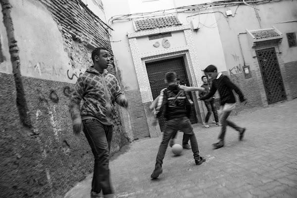 Partita nel souk di Marrakech! di Alessio Zampetti