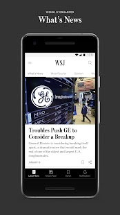 The Wall Street Journal: Business & Market News- screenshot thumbnail