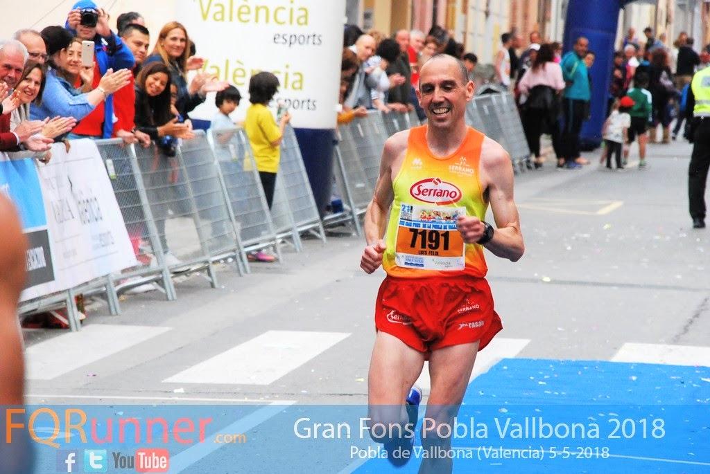 corredor de Alboraya del Club de Atletismo Serrano LUIS FÉLIX MARTÍNEZ GÓMEZ
