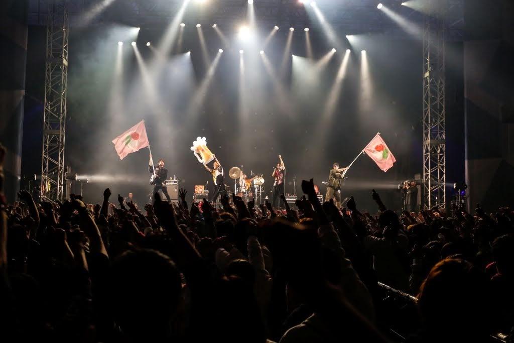 オメでたい頭でなにより 出演 COUNTDOWN JAPAN  19/20 倒數搞笑致敬 キュウソネコカミ、go!go!vanillas、でんぱ組.inc、DJダイノジ