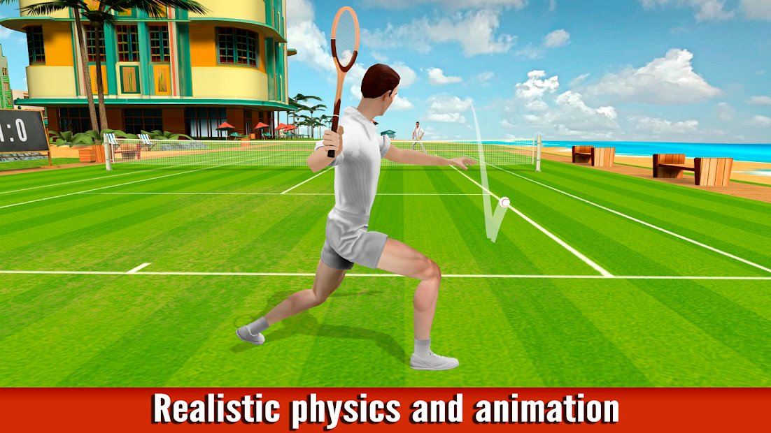 World of Tennis: Roaring '20s — online sports game Android App Screenshot