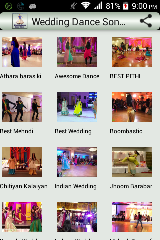 Wedding Dance Videos Songs