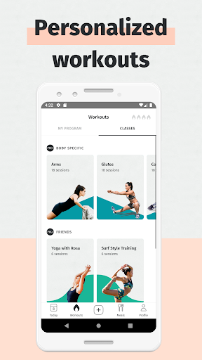 8fit Workouts & Meal Planner 4.12.4 screenshots 1