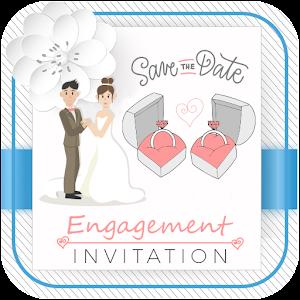 Engagement invitation card maker 10 latest apk download for android engagement invitation card maker apk download for android stopboris Image collections