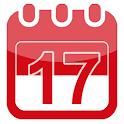Kalender 2019, 2020, libur nasional, cuti bersama icon